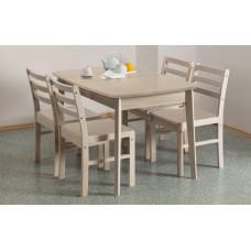 Стол обеденный раздвижной овальная крышка ламино 800х1270
