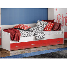 """Кровать с ящиками """"Алфавит"""", Миф"""