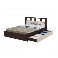 """Кровать с ящиками """"Жасмин"""", Миф"""