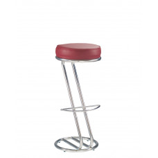 "Барный стул ""ZETA HOKER chrome"""